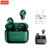 Original Lenovo HT18 TWS Drahtlose Bluetooth 5,0 Kopfhörer Ohrhörer Volumen Control HIFI Stereo Headset Batterie 1000mAH Lade box