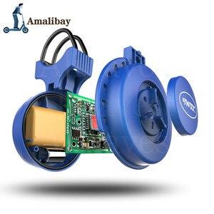 Image 4 - Oplaadbare Scooter Bel 120dB Waterdichte Stuur Hoorn Alarm Voor Xiaom Mijia M365 /M365 Pro Voor Ninebot ES1 ES2 Scooter