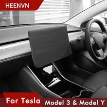 Heenvn – housse de protection pour Tesla Model 3 2021, accessoires de Navigation, pare-soleil, protection d'écran, tissu étanche