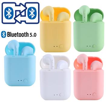 I7Mini-2 TWS bezprzewodowe słuchawki Bluetooth 5 0 słuchawki matowe słuchawki douszne bezprzewodowe słuchawki dla xiaomi iphone Charging Box tanie i dobre opinie EDS EIDESS Dynamiczny CN (pochodzenie) Prawdziwie bezprzewodowe 42±5dBdBdBdBdB 0Nonemmmm do telefonu komórkowego Do gier wideo