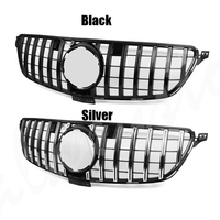 for ML W166 Grille Grill GT R GTR Style Car Front Grill Grille For Benz W166 ML ML300 ML320 ML350 ML400 2012 2015