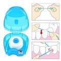 25 м зубная нить для чистки зубов Гигиена здоровья портативная зубная нить для ухода за зубами зубная щетка для межзубного ухода инструменты...
