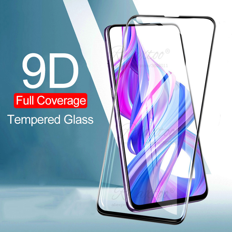 9D Protective Glass For Huawei Honor 9X 8X 8C 8S 8A Pro Full Cover Tempered Glass For Honor 9 8 X C S A X8 Screen Protector Film