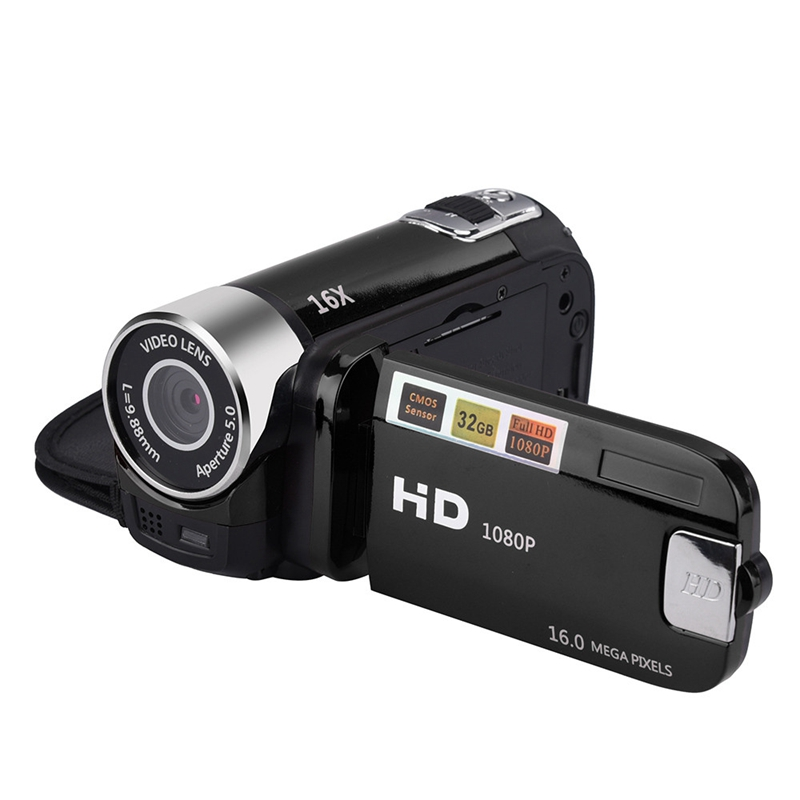 Top Sale2.4 Inch TFT Screen 16X Digital Zoom DV Video Camcorder HD 1080P Handheld Digital Camera Cmos Sensor Up To 32 GB S