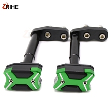 цена на z300 2013-2016 Protection Motorcycle Frame Sliders Crash Pad Cover Falling Protector Guard For KAWASAKI Z300 2013 2014 2015 2016