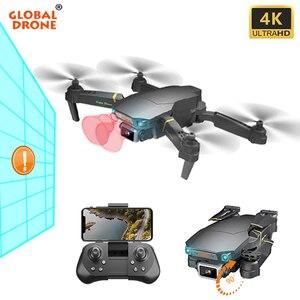 Drone 4K Quadrocopter drony z kamerą HD helikopter RC wykrywanie przeszkód Quadcopter EXA Pro Dropship Dron VS SG907 SG106 E58
