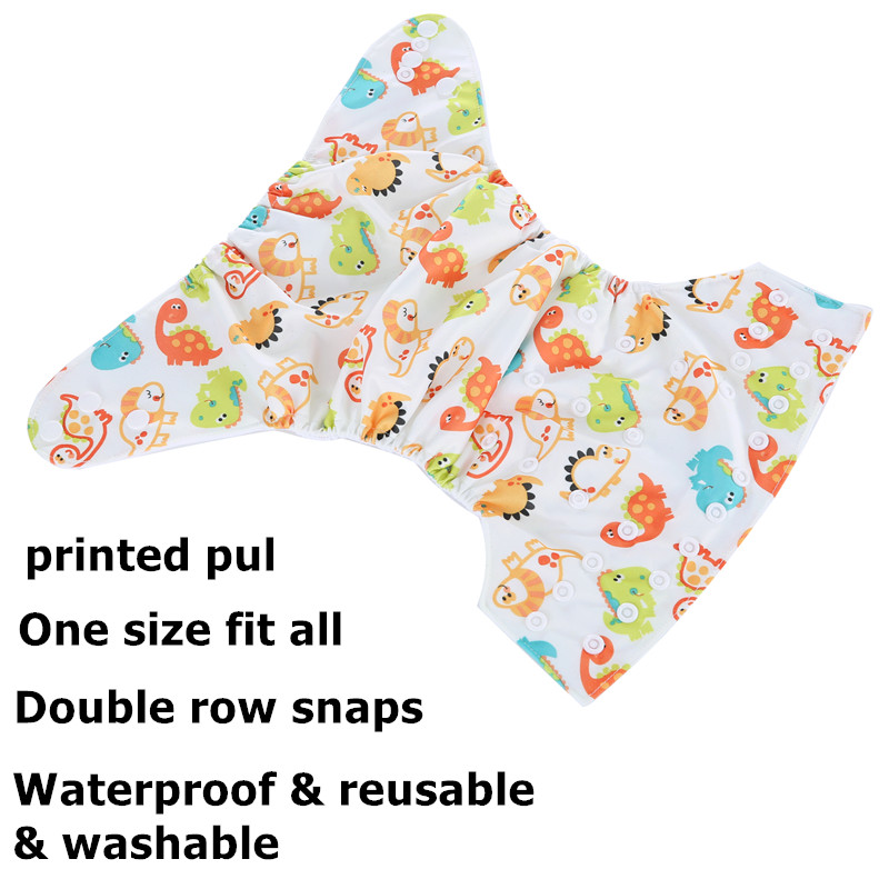 Diaper-Cover Nappy Insert Available-Diaper Washable-Cloth Reusable Simfamily 6pcs