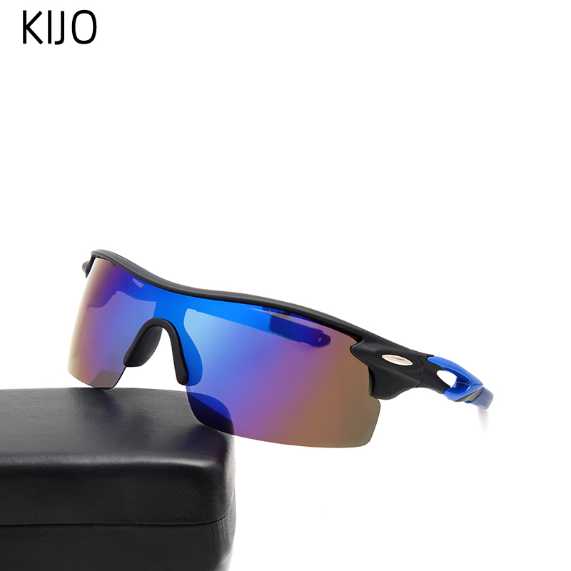 Sports Polarized UV400 Windproof Sunglasses Fishing Glasses Lens Color Goggles