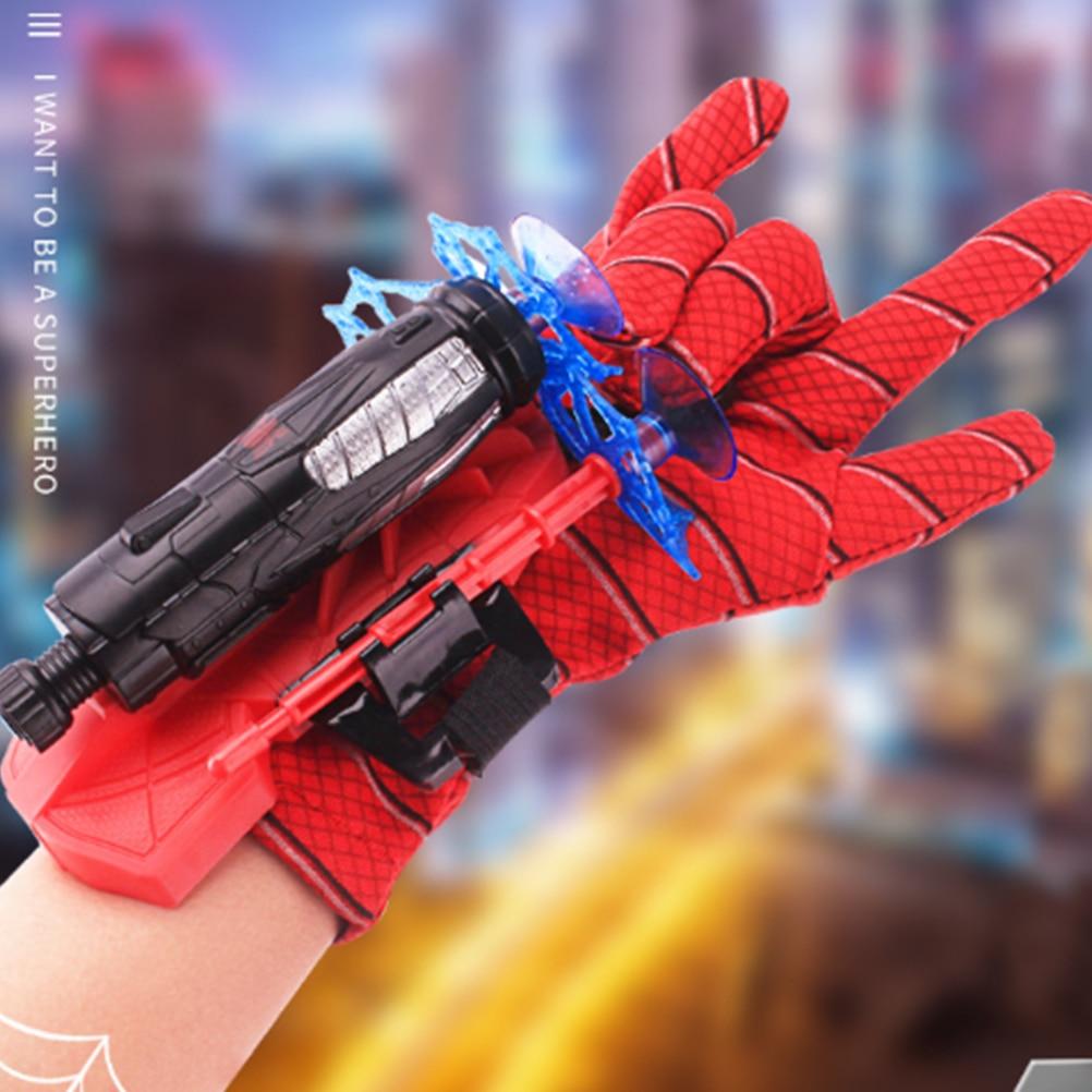 Детские пластиковые косплей перчатки Hero пусковая игрушка для запястья набор забавные детские развивающие игрушки