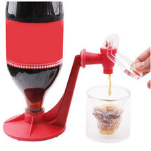 Saver Soda Dispenser Magic Tap Drinking Water Dispense Bottle Upside Down Coke Drink Party Bar Home Kitchen Gadget Carton Pack creative soda cans food grade drink dust seal cover six pack reusable bottle sealing cap snap on can convert soda for cool coke