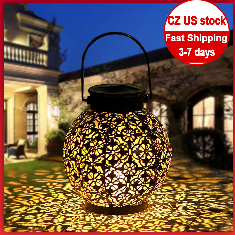 Waterproof solar Lamp 2020 LED Solar powered Lantern Outdoor solar garden light Dancing Flicker Flame Light  Landscape Yard