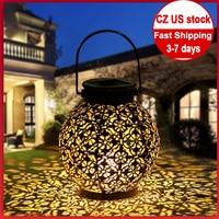 Lámpara solar de 2020 LED impermeable, linterna con motor para exteriores, luz Solar de jardín, baile, llama parpadeante, patio de paisaje