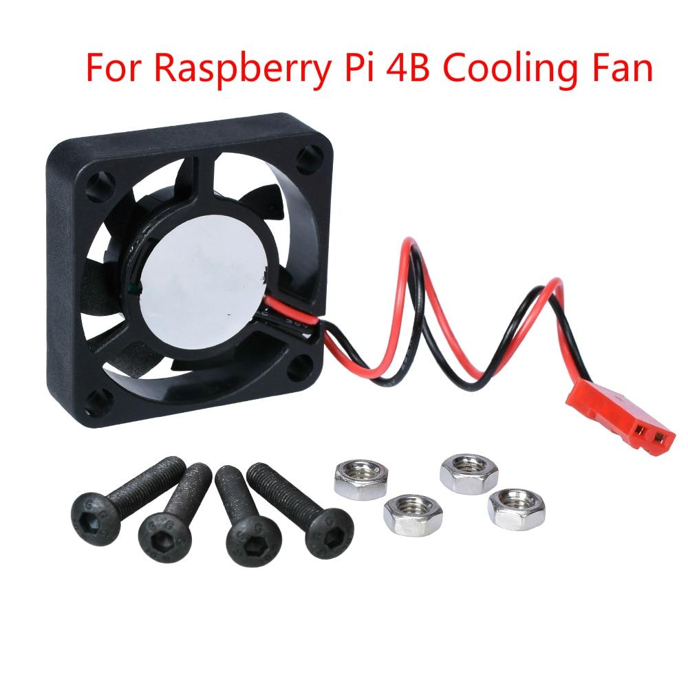 For Raspberry Pi 4 Cooling Fan Raspberry Pi Small Mini Fan 30x30x7mm Brushless Quiet Cooling Fan For Raspberry Pi 4 Model B