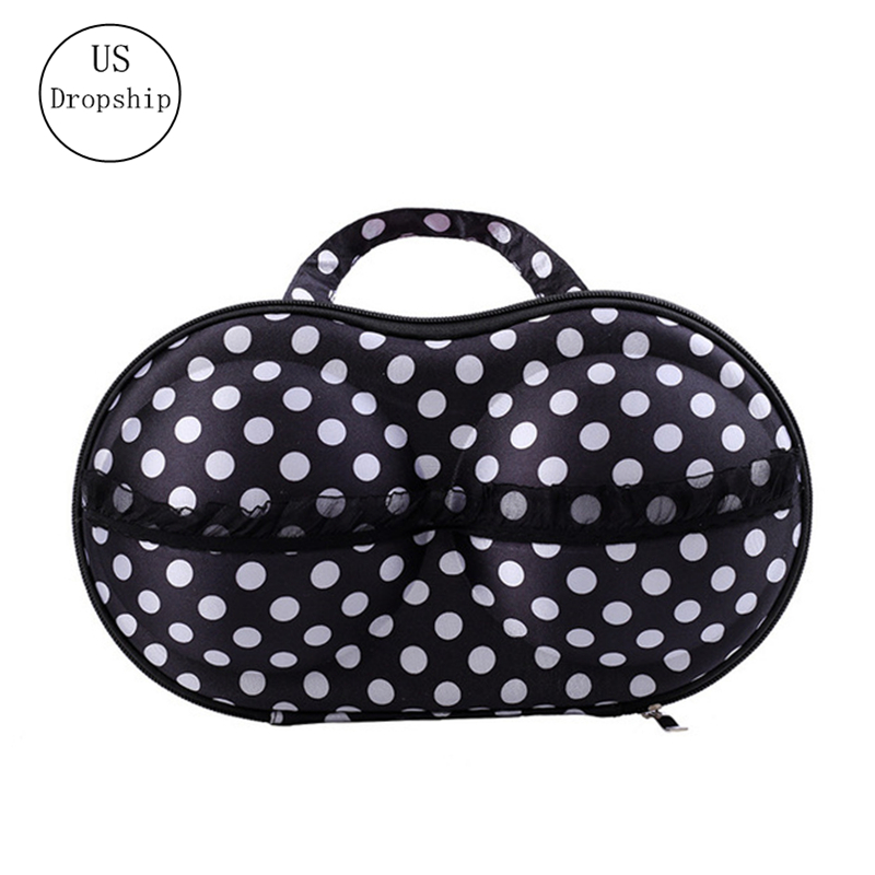 Women Bra Bag Portable Underwear Bra Storage Box Travel Luggage Bag Packing Organizers Home Storage Underwear Organizer Case
