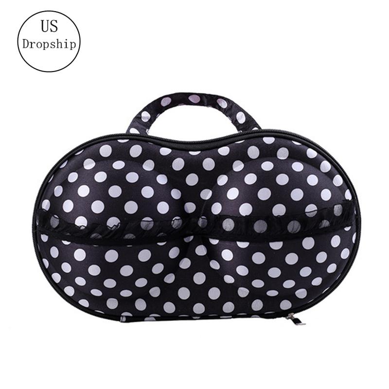 women bra bag Portable Underwear Bra Storage Box Travel Luggage bag Packing Organizers Home Storage Underwear Organizer Case