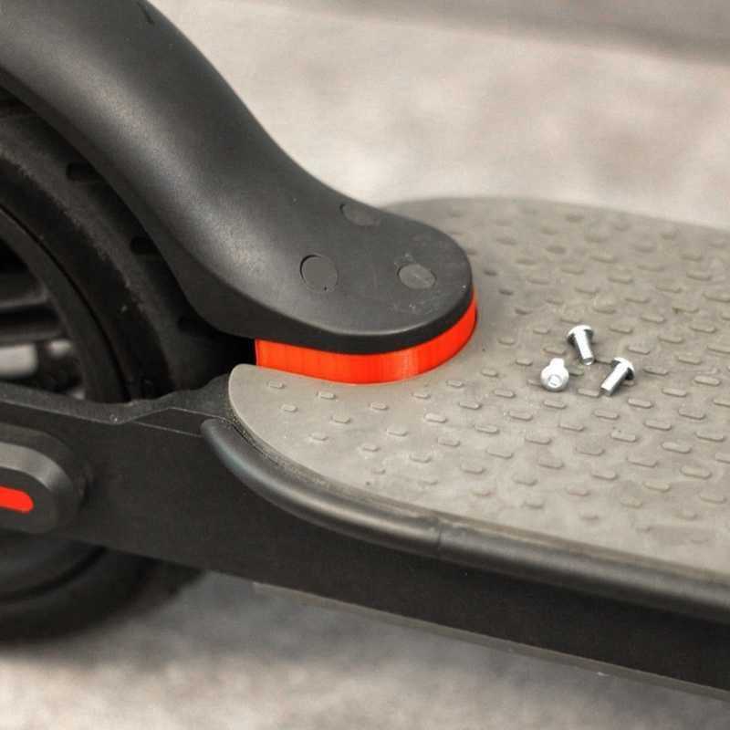 Per Xiaomi Scooter Norma Mijia M365 M187 Kit Completo per il 10 Pollici Ruote di Aggiornamento 'ROSSO