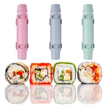 sushi Sushi Maker Roller Rice Mold Sushi Bazooka Vegetable Meat Rolling Tool DIY Sushi Making Machine Kitchen Sushi Tool Kitchen Tools