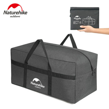 Naturehike 45L 100L Upgrade Folding Large Capacity Storage Bag Outdoor Ultralight Durable Duffel Portable Travel Camping - discount item  50% OFF Camping & Hiking