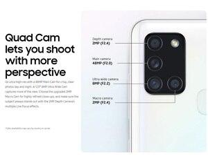 Смартфон Samsung Galaxy A21s A217F/DS, 4 ГБ, 64 ГБ, мобильный телефон, 5000 мАч, Восьмиядерный, 6,5 дюймов, четырехъядерный, 48 МП, две sim-карты, 4G, Android