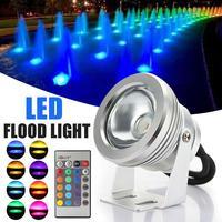 IP68 10W LED RGB Holofote Levou À Prova D' Água Luz Ao Ar Livre Focos LED de Iluminação da Fonte Lâmpada Piscina Luz