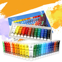 Acrylic-Paint-Set Fabric-Clothing Drawing-Painting Art-Supplies Nail-Glass Kids Waterproof
