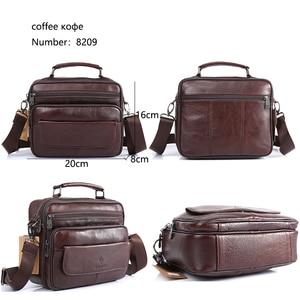 Image 5 - ZZNICK 2020 Genuine Cowhide Leather Shoulder Bag Small Messenger Bags Men Travel New Fashion Men Bag Flap Crossbody Bag Handbags