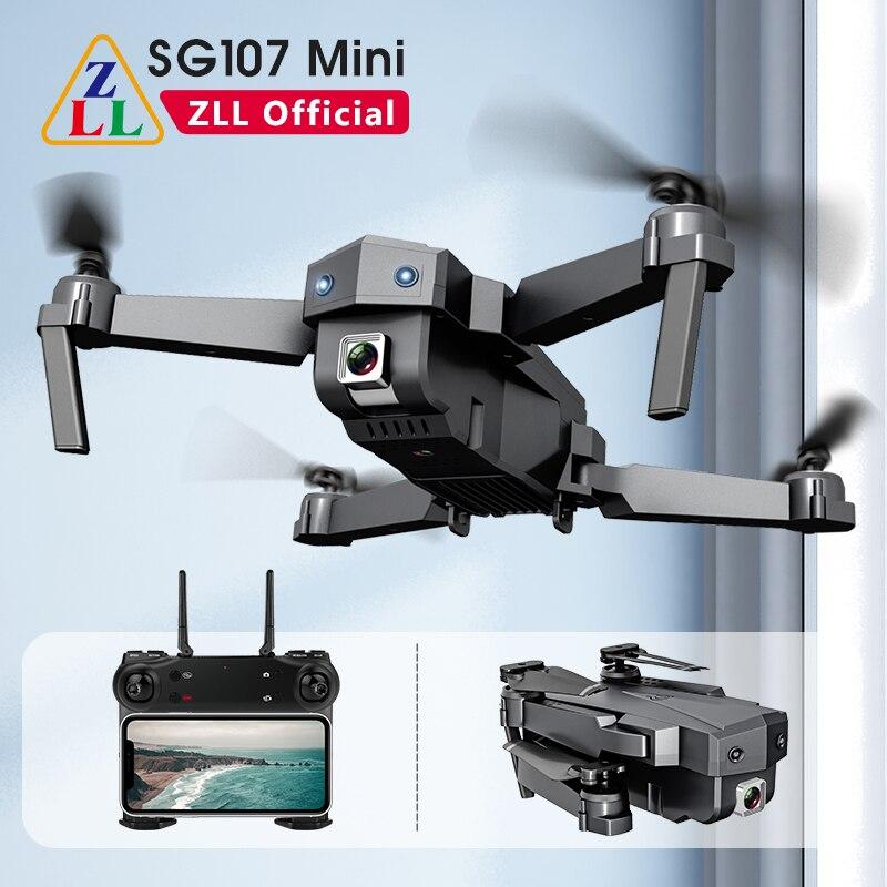 ZLL SG107 Mini Drone 4K WIFI FPV Single Camera Drone profesional Dual Camera optical flow 50X time zoom Quadcopter RC Dron|Camera Drones| - AliExpress