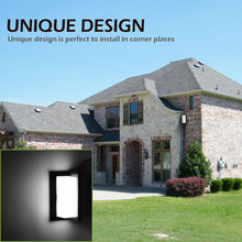 IP55 12W LED Outdoor Wall Light Wall Mounted Modern Lamp AC85-265V Waterproof Outdoor Lighting For Garden Home