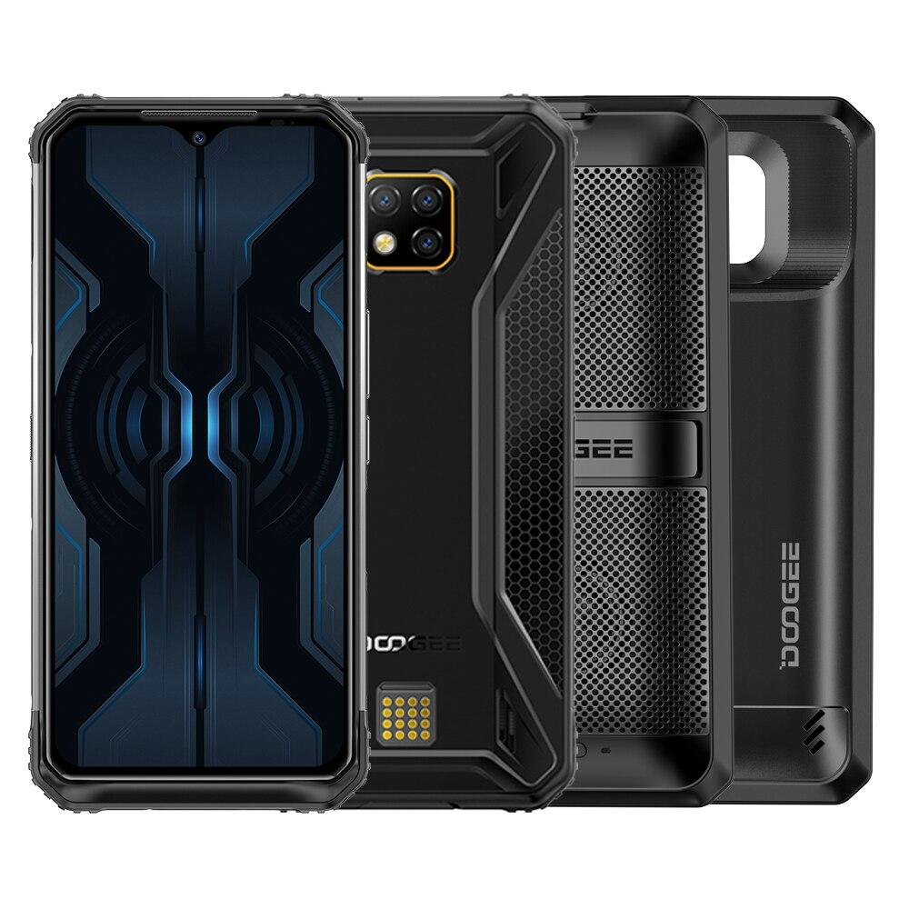 original Doogee S95 Pro 8GB 128GB IP68/IP69K smarthone Android 9.0 Helio P90 Wireless Charging 5150mAh 48MP NFC 4G mobile phone
