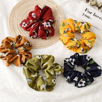 ¡Nueva flor 2020! Sujetadores de cola, lazos de pelo suaves, diademas elásticas Vintage para niñas, accesorios para el cabello para mujeres