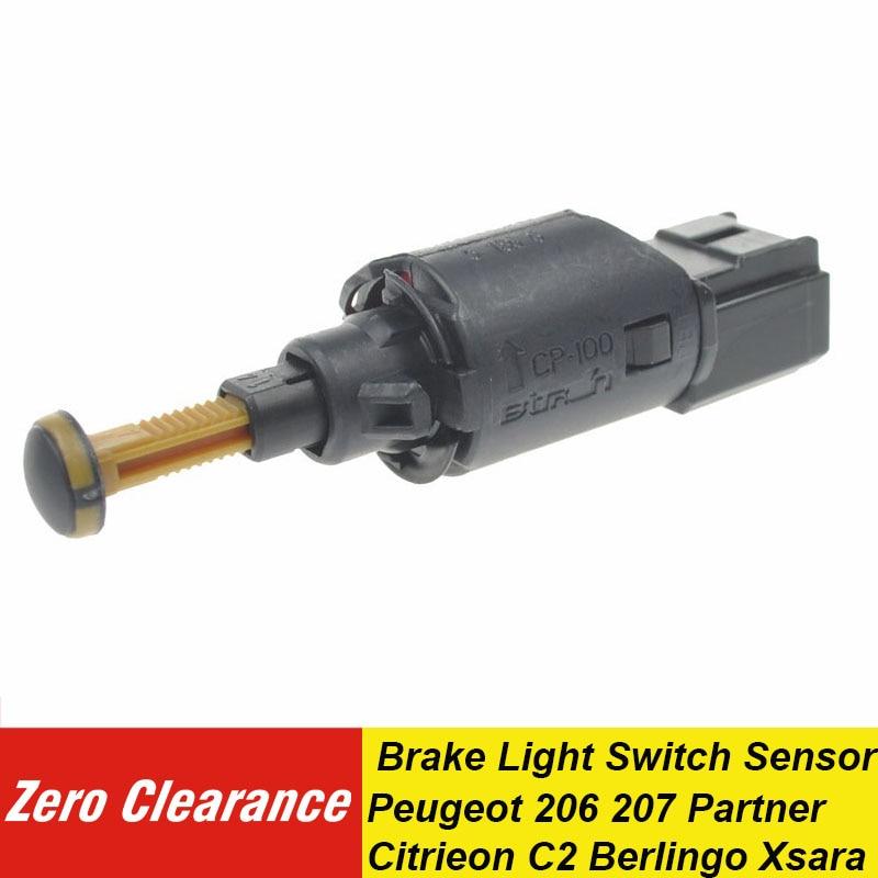 Zeroclearance 新しい本ブレーキライトスイッチセンサー 453444 プジョー 9634667980 206 207 パートナー Citrieon C2 Berlingo クサラ