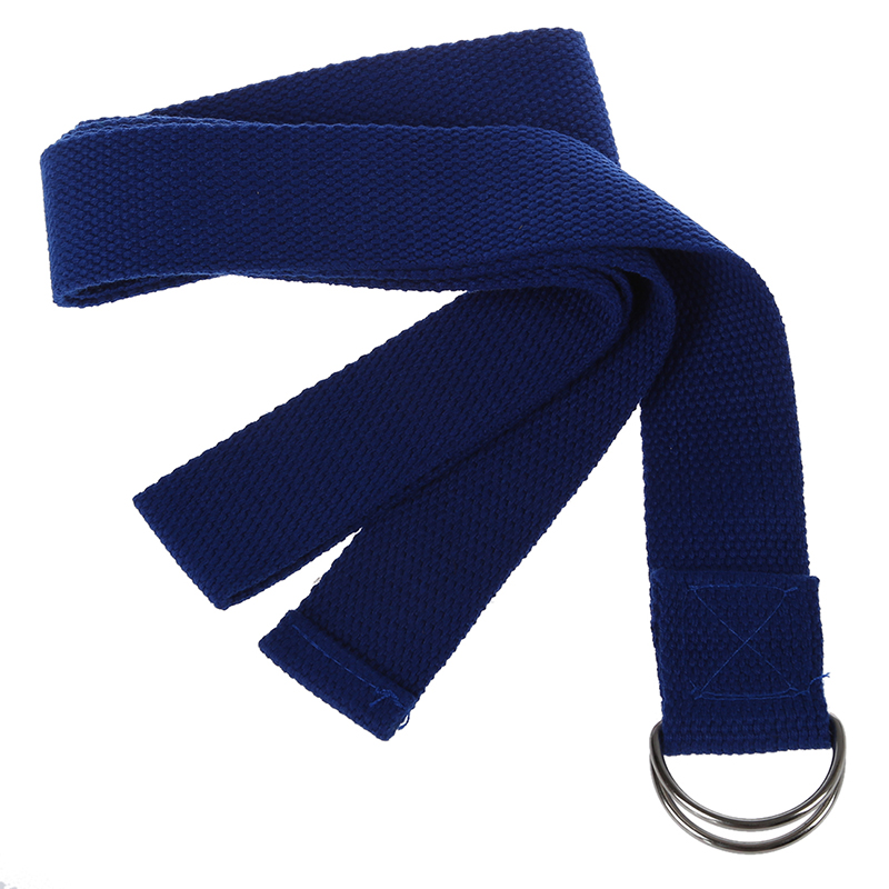 1 PCS Random Color 67 exercise Yoga Stretching Strap Polyester-cotton Belt Pilates Fitness Prop