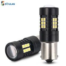 1 шт. Canbus для s25 ba15s p21w bay15s py21w bay15d p21/5 Вт светодиодный автомобильный светильник s сигнальная Поворотная лампа стоп-сигнал светильник светодиод...