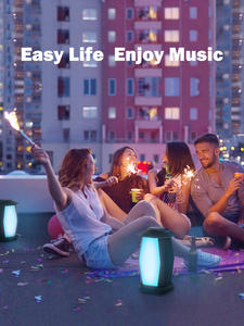 INWA Outdoor Bluetooth Speakers Led-Mood-Lights Wireless Supported Waterproof 25W