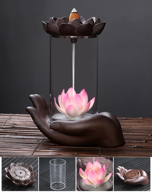 Handgemachte Keramik Weihrauchbrenner  4