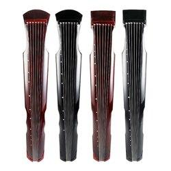 SevenAngel chino Fuxi Zhongni Guqin 7 cuerdas cremallera antigua para adultos/niños práctica principiante Guqin 100% musical hecho a mano