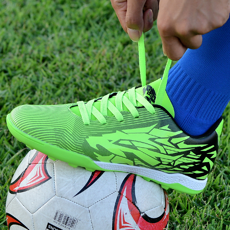 Soccer Shoes for men Kids indoor football Shoes sneakers turf superfly futsal original football boots Comfortable Waterproof|Soccer Shoes| |  - title=