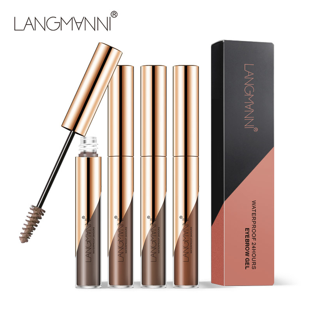 Langmanni Professional Eyebrow Cream Eyebrow Enhancers Cosmetic Eye Brow Dye Cream Pencil Long-lasting Waterproof Make Up Tools 1