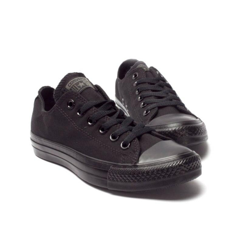 Оригинальные мужские и женские кроссовки converer all star для мужчин и женщин, парусиновая обувь, черные низкие классические кроссовки для скейтб...
