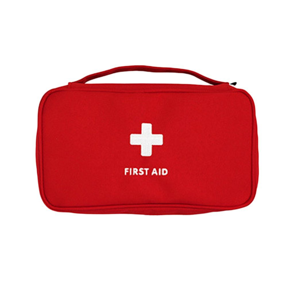 Outdoor First Aid Kit Bag Emergency Kit Survival Bag Handbag Travel Storage Bag Small Organizer With Handle