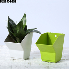 Садовый пластиковый открытый цветочный горшок трехмерный Вертикальный зеленый трехмерный комбинированный настенный цветочный горшок