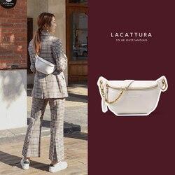 Bolso de cintura de cuero PU de diseñador para mujer, riñonera rosa de alta calidad, bolso multifunción para el pecho, riñonera para mujer, bolso elegante para cinturón