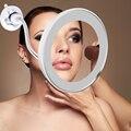 Косметическое зеркало-светильник 10X лупы 360 зеркальный светодиодный светильник для макияжа зеркальная лампа косметический мини-светильник...