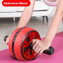 ABS Mute Abdominal Wheel Exercise Gym Roller Core Fitness Muscle Trainer Ab Roller Strength Training Professional Slimming Sport(China)
