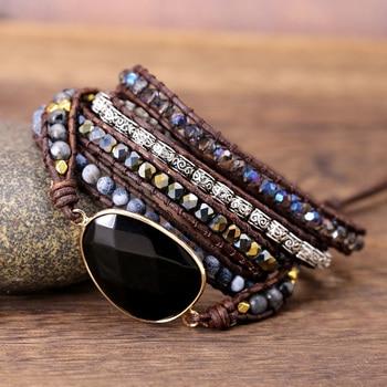 Black Onyx Root Chakra Bracelet