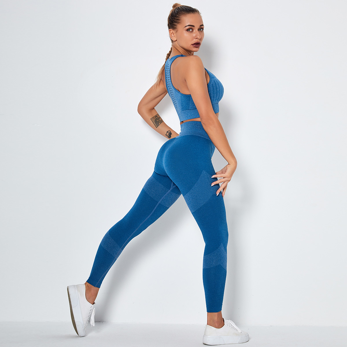 Conjunto de ropa deportiva Leggings y Tops
