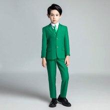 YuanLu 5PCS Kids Suits Toddler Suit For Boy Wedding