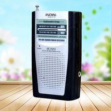 Kieszonkowy odbiornik radiowy wbudowany głośnik uniwersalny przenośny AM odbiornik radiowy fm BC-R20 HQ tanie tanio UPLE Przenośne Am fm Other Z tworzywa sztucznego 9 5 x 5 8 x 2cm