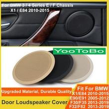 LHD RHD Interior Door Horn Loudspeaker Audio Sound Cover For BMW X1 E84 3/4 series E90 E91 F30 F35 F31 F34 F32 F33 F36 F82 F83