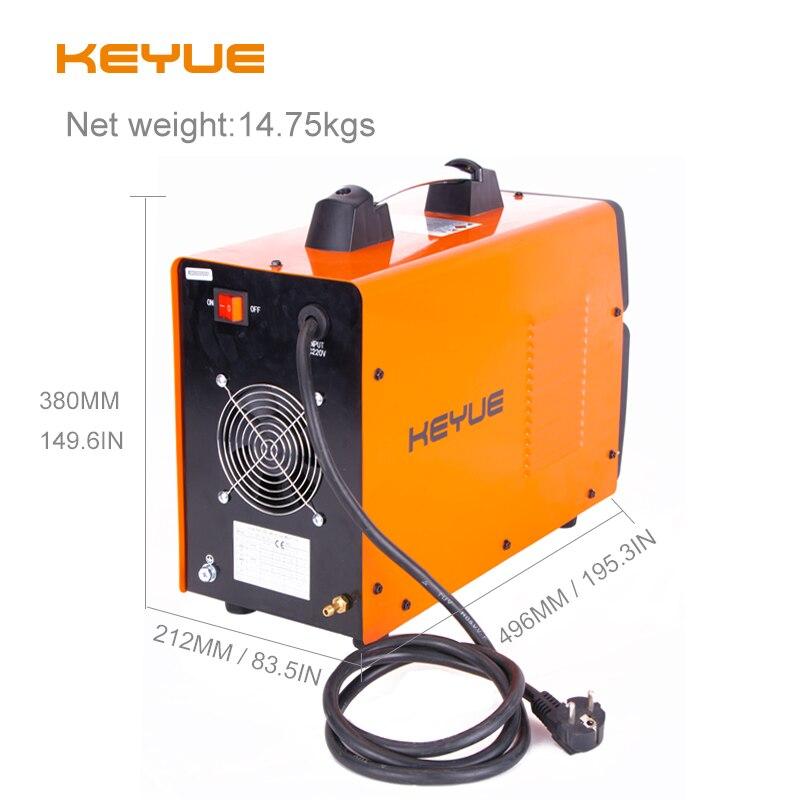 Tools : KEYUE TIG200P AC DC Portable Single Phase 220V Aluminum Welder Inverter Digital Pulse TIG MMA Welding Machine Remote Control
